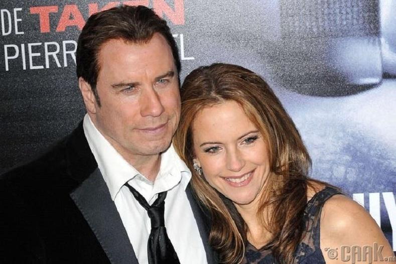Жон Траволта (John Travolta) болон Кэли Престон (Kelly Preston)