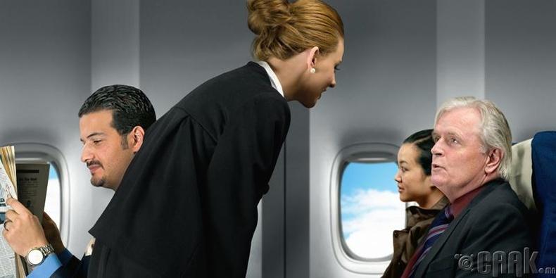 """""""Хэрвээ зорчигчид суудлын бүсээ зүүгээгүй үед онгоц нисвэл яах вэ?"""""""