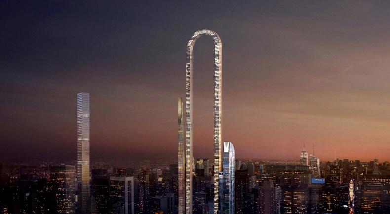 Нью-Йорк хотод удахгүй баригдах дэлхийн хамгийн урт барилга