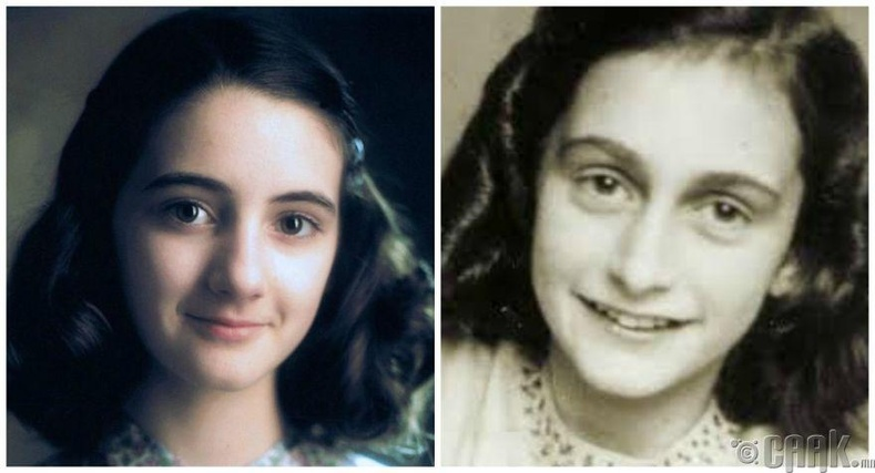 "Ханна Тейлор - ""Anne Frank: The Whole Story"" киноны Анна Франк"