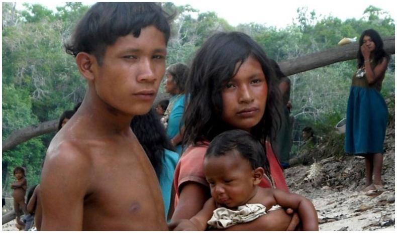 Амазоны ширэнгэн ойд амьдардаг огт унтдаггүй омгийнхон