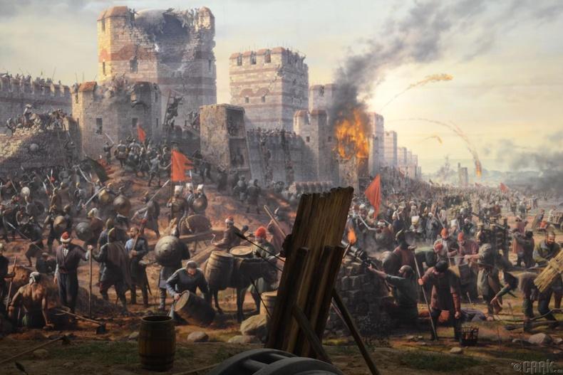"""""""Багдадын бүслэлт"""", 1258 он (2 сая хүн амиа алдсан)"""