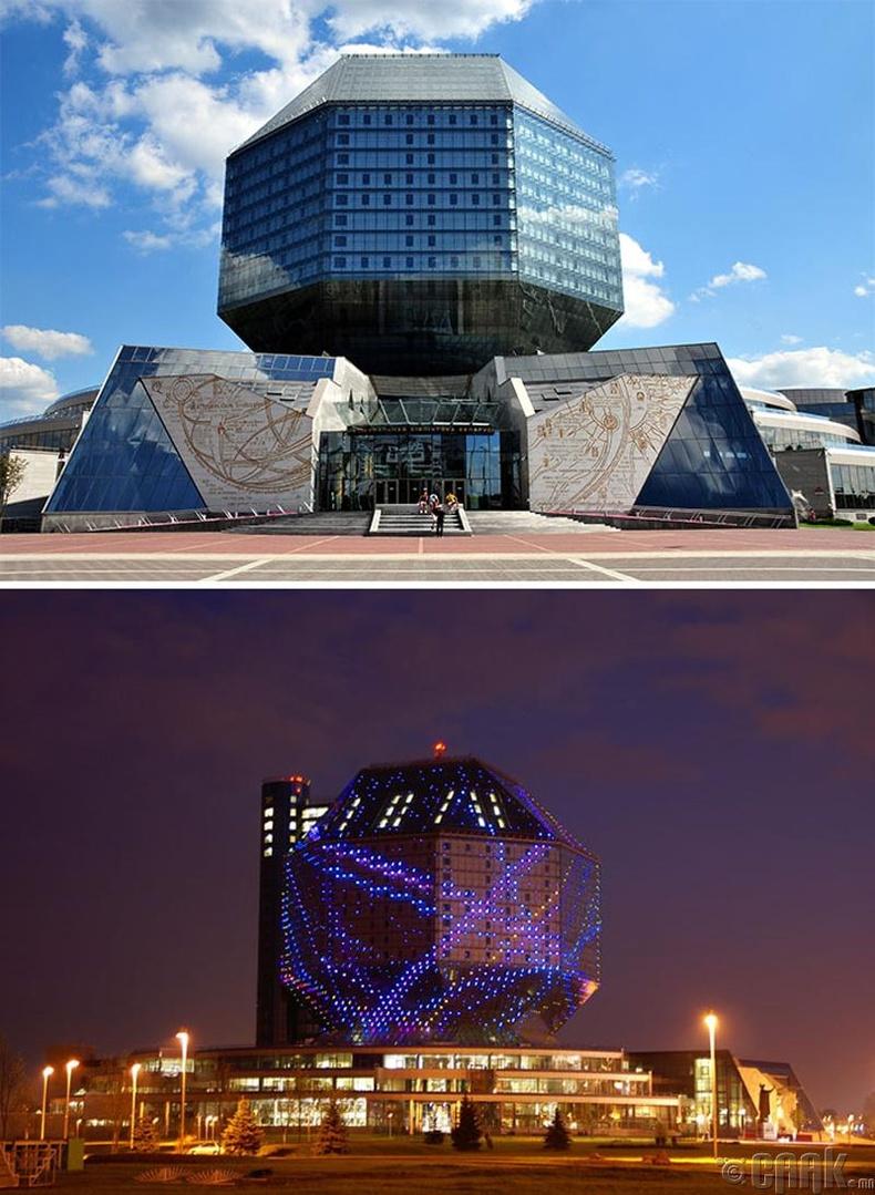 """Минск дахь """"Беларусийн үндэсний номын сан"""""""