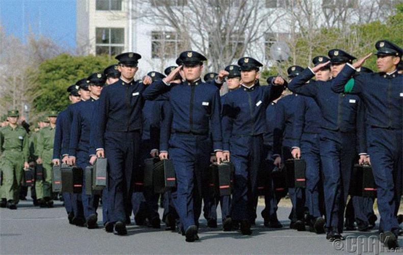 Японы үндэсний батлан хамгаалахын академи