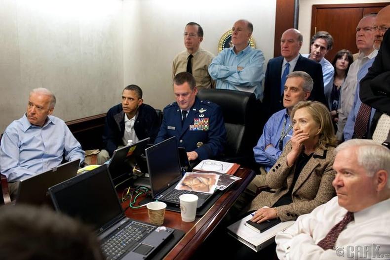 Барак Обама ба түүний нөхөд Бин Ладений араас...
