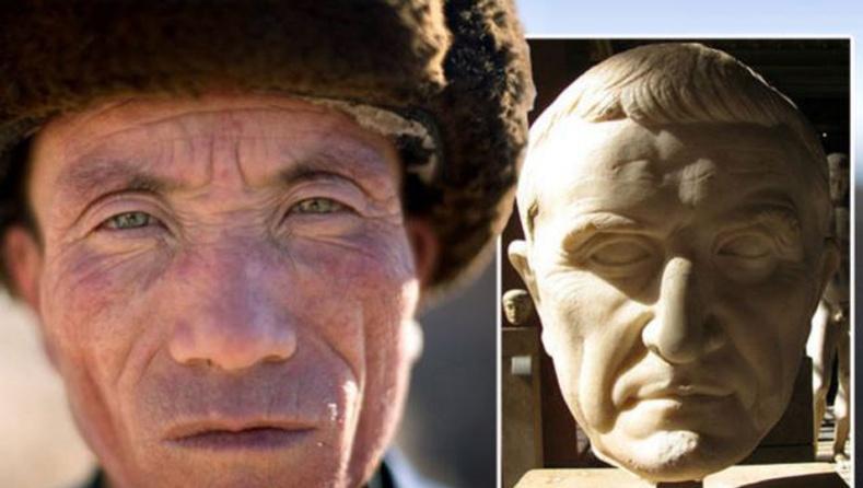 Монголын хилийн ойролцоо амьдардаг эртний Ромчуудын үр сад