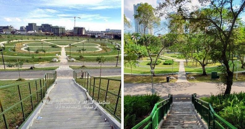 Сингапур дахь Бишан цэцэрлэгт хүрээлэн 32 жилийн дараа