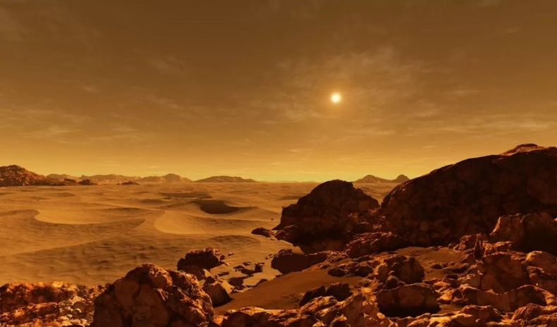 Нарны аймгийн бусад гаригууд дээр үүр цайх агшин ямар харагддаг вэ?