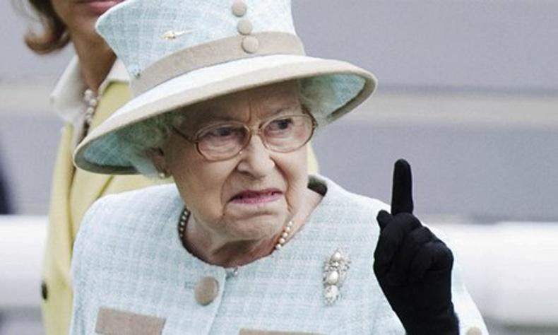 Английн хатан хааны яхир дүрэм