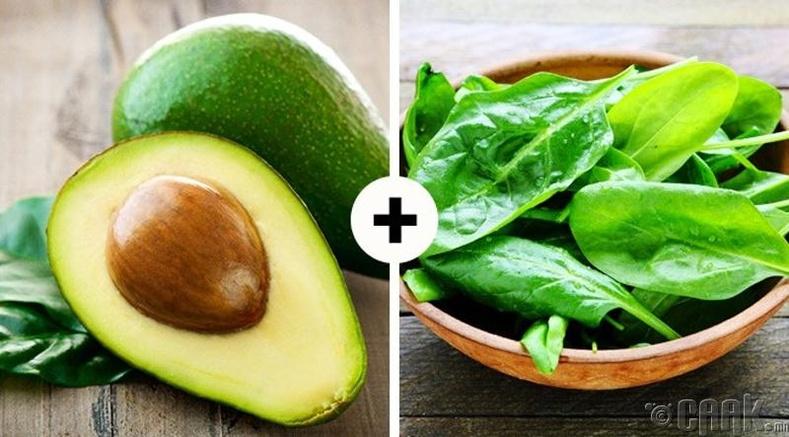 Авокадо болон бууцай