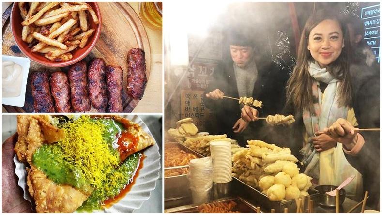 Орон орны хамгийн амттай гудамжны хоол