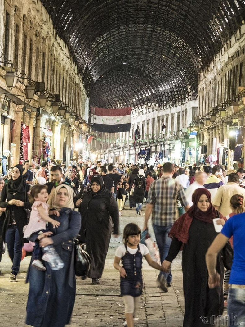 Дамаск хотын худалдааны зах