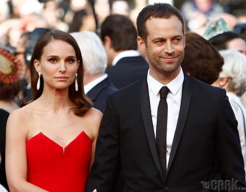 Натали Портман  (Natalie Portman) болон  Бенжамин Мильпье  (Benjamin Millepied)