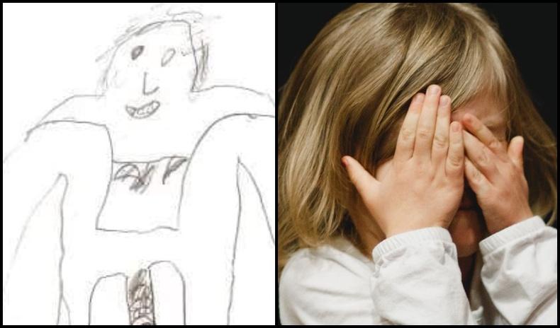 Бэлгийн хүчирхийлэлд өртсөн хүүхдүүдийн зурсан сэтгэл өвтгөм зургууд
