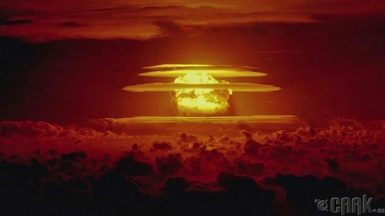 """Хамгийн аюултай цөмийн осол """"Castle Bravo"""" (1954.03.01)"""