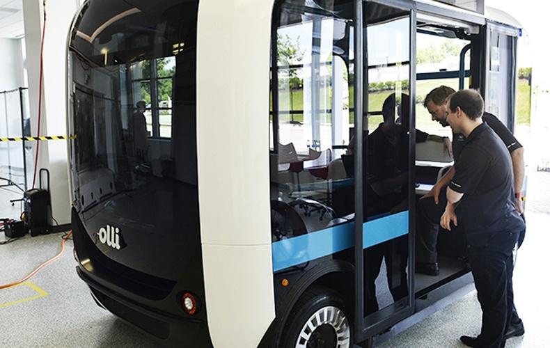 3D принтерээр хэвлэсэн анхны автобус