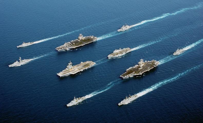 Дэлхийн хамгийн хүчирхэг флоттой 10 орон