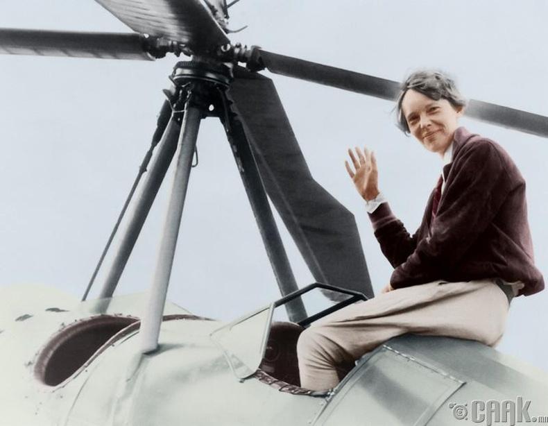 Амелия Эрхард /Amelia Earhart/
