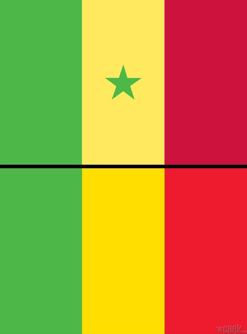Сенегал (Senegal) болон Мали (Mali)