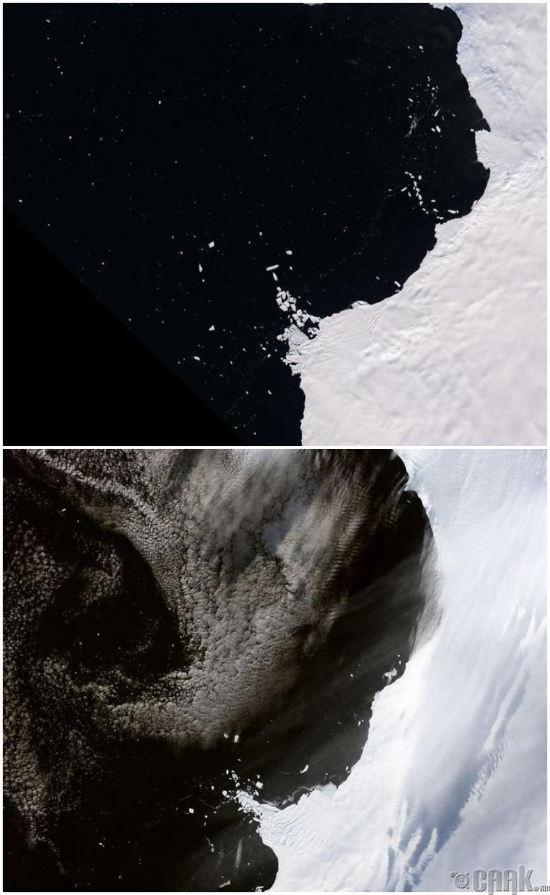 Энэ зууны төгсгөл гэхэд далайн түвшин 60 метрээр нэмэгдэж магадгүй