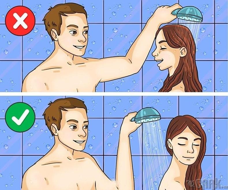 Үсээ тогтмол угаах