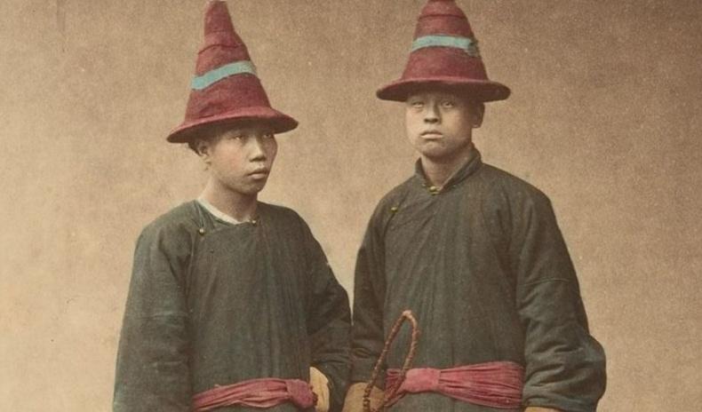 1870-аад оны Манж Чин улсын иргэдийн хөрөг зургууд