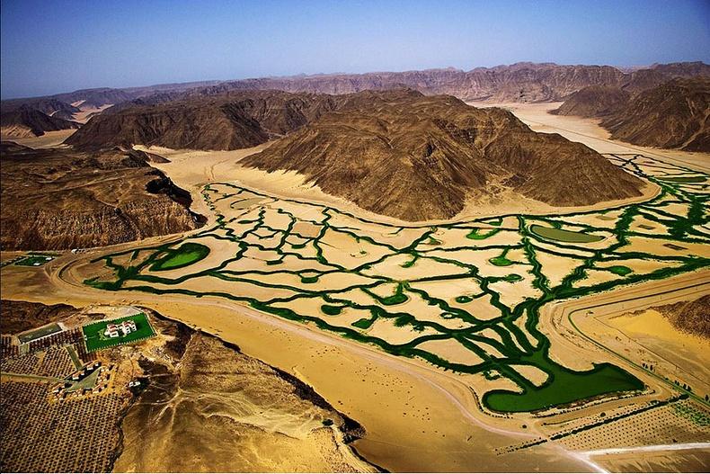 Вади Рум цөлийн усжуулалтын систем - Иордан