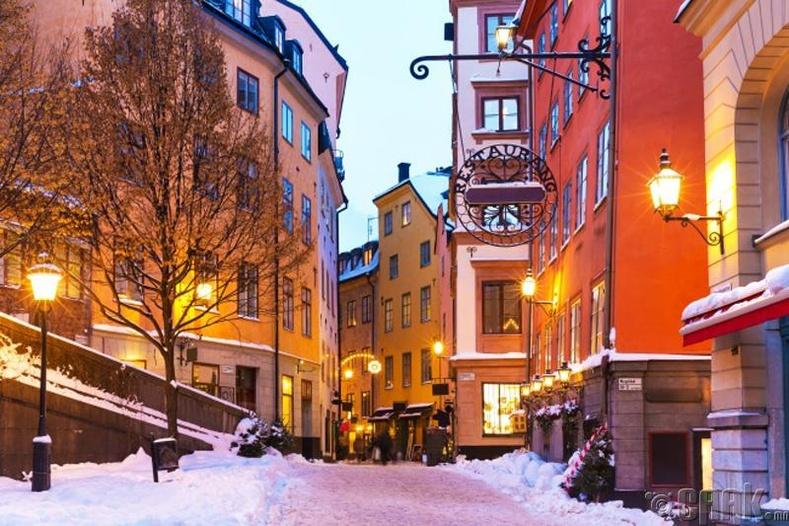Стокгольм, Швед