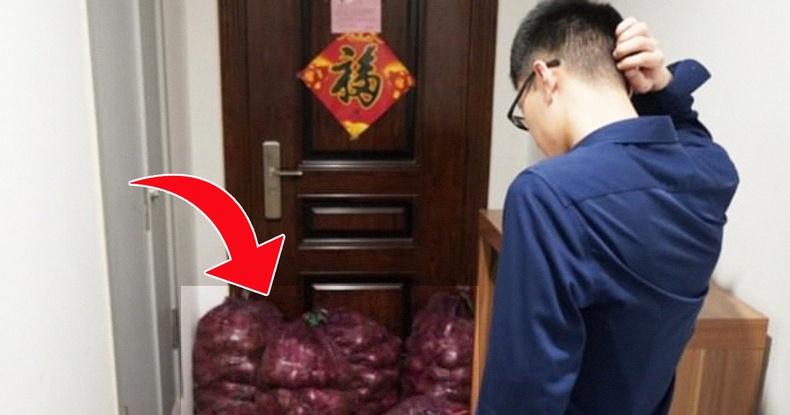 """Хятад бүсгүй экс найз залуугаа """"уйлуулах""""-ын тулд хачирхалтай бэлэг илгээжээ"""