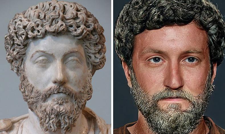Ромын эзэн хаан Маркус Аврелий
