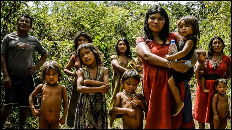 Амазон мөрний ширэнгэд амьдардаг хэзээ ч унтдаггүй зэрлэг омгийнхон