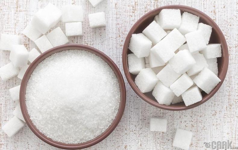 Эрдэнэшишийн сироп болон элсэн чихэр