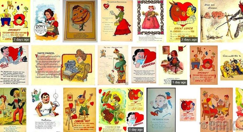 Валентины баярын зурагт мэндчилгээ