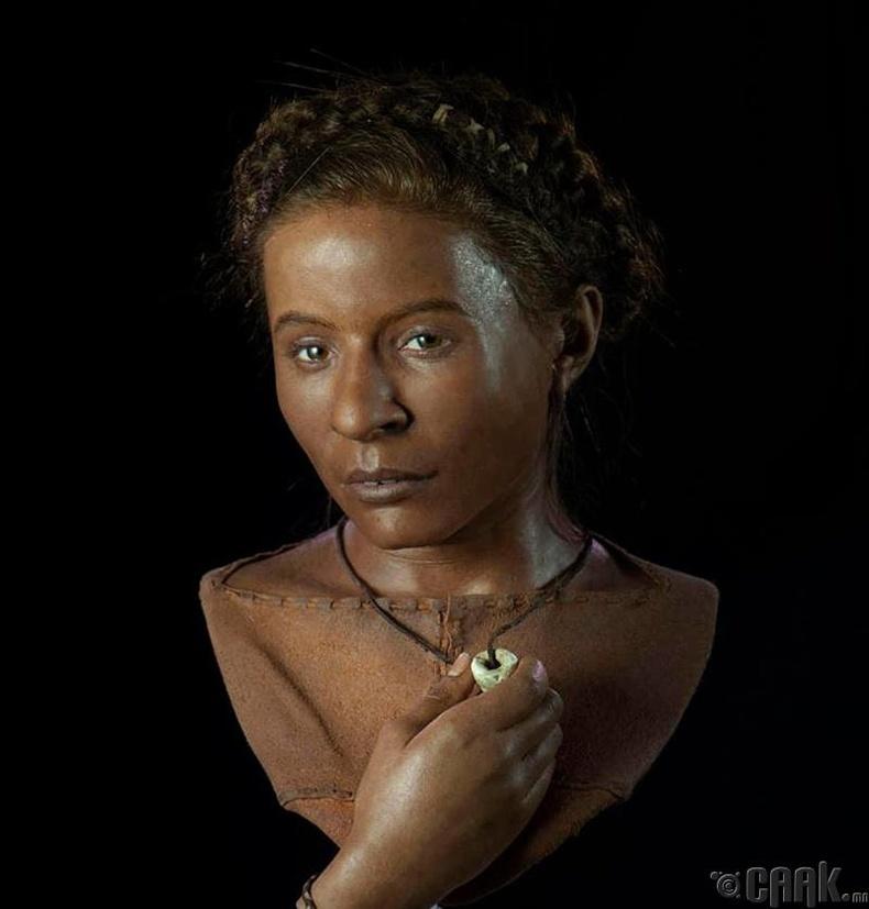 МЭӨ 3500 оны үеийн эмэгтэй