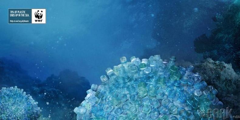 Далайг бохирдуулахын эсрэг Дэлхийн байгаль хамгаалах сангийн зурагт хуудаснууд