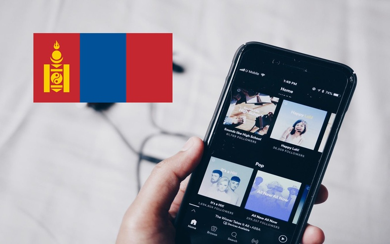 """Дэлхийн хөгжмийн хамгийн том сан """"Spotify""""-г Монголд ашиглах боломжтой болжээ"""