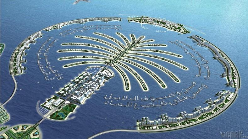 Палм арал (Дубай) - Дэлхийн хамгийн том хиймэл арал