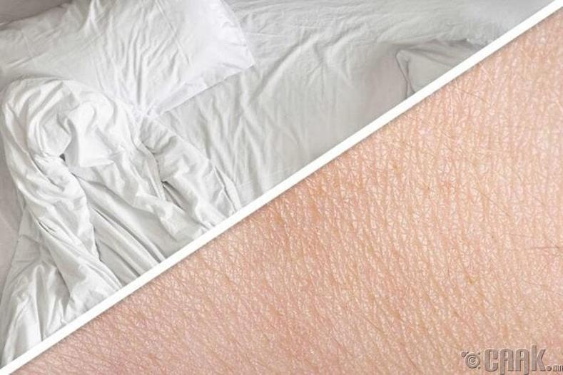 Хангалттай сайн унтаж амардаггүй
