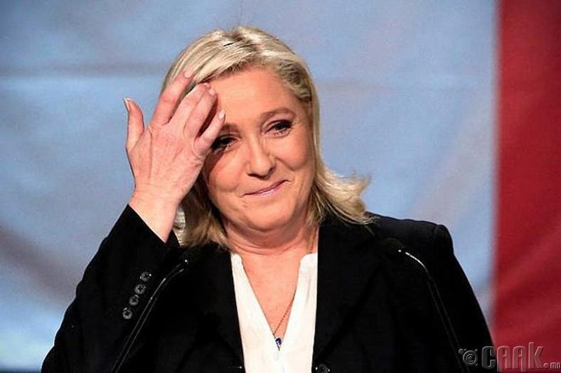 Франц улсын ерөнхийлөгчөөр Марин Ле Пен сонгогдоно