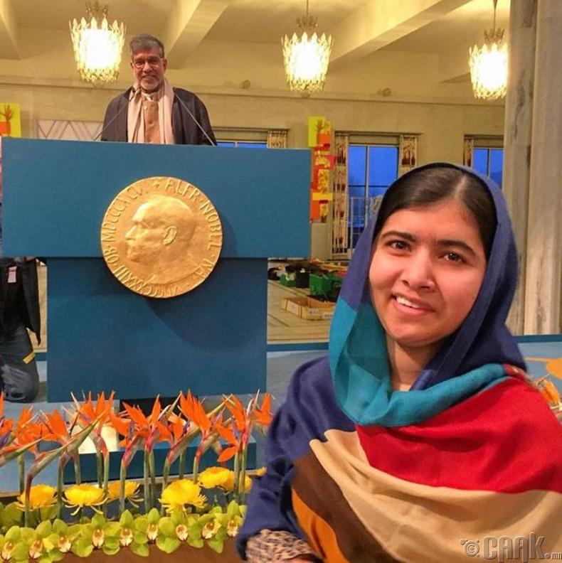 Эмэгтэйчүүд, хүүхдүүдийн боловсролын төлөө тэмцэгч Малала Юсуфзай /Malala Yousafzai/