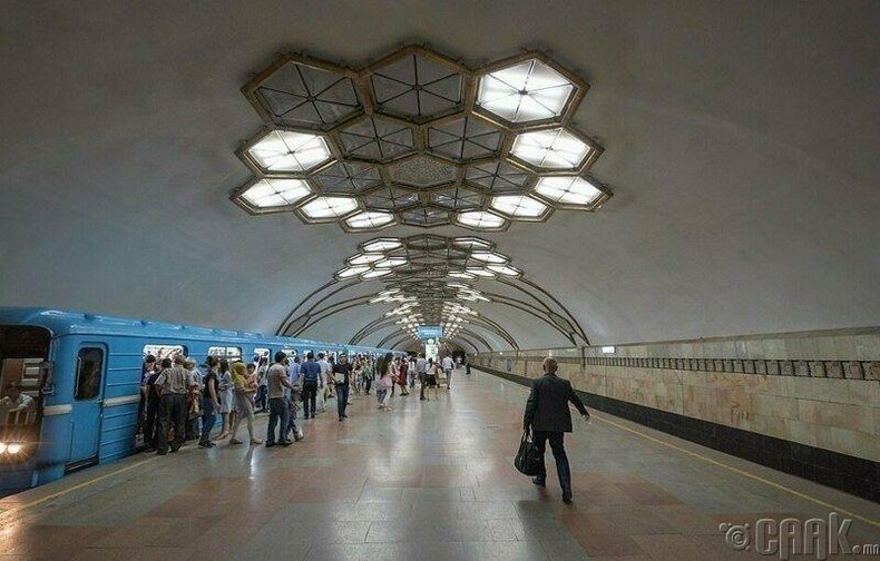 Новзагийн буудал, Ташкент
