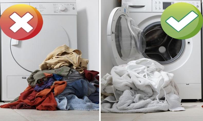 Хувцас угаахад гаргадаг алдаанууд