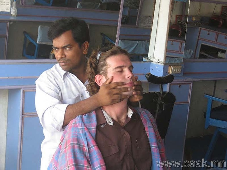 Хацрын массаж