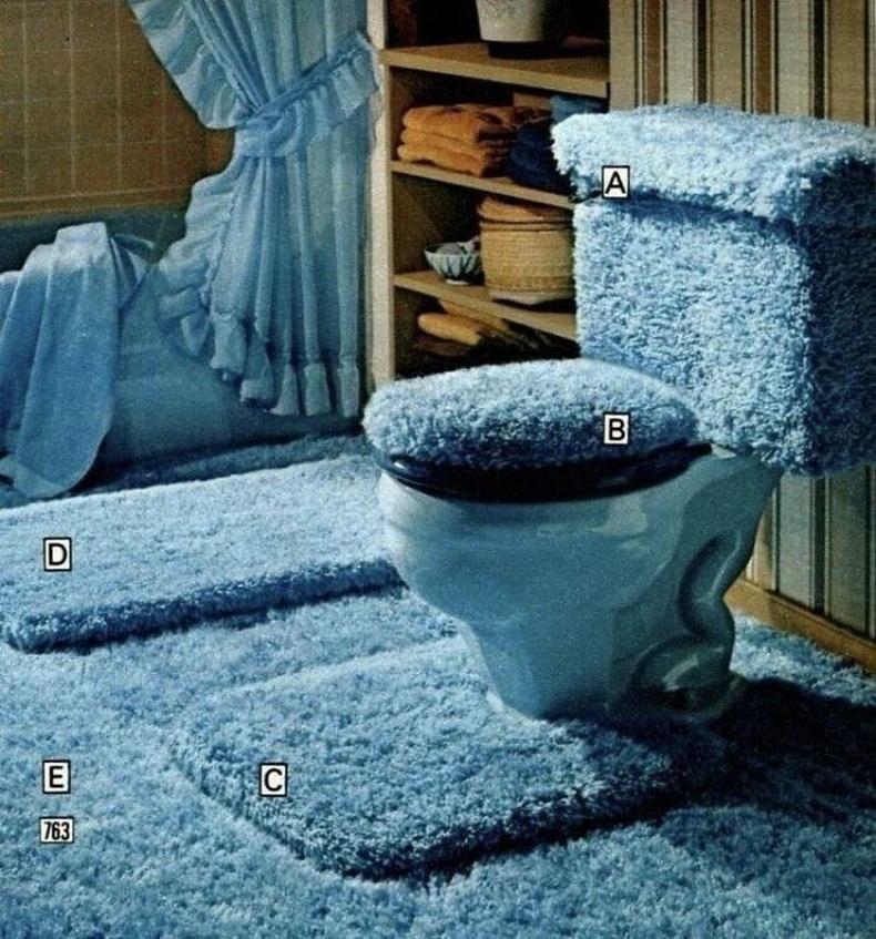 Ариун цэврийн өрөөнд тийм ч зөв шийдэл биш