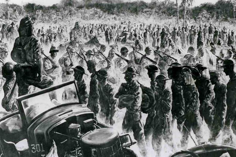 Батааны үхлийн марш - 1942 он