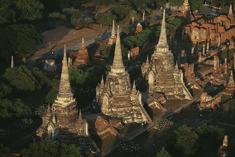 Аюттхаяа дахь хаадын бунхан - Тайланд