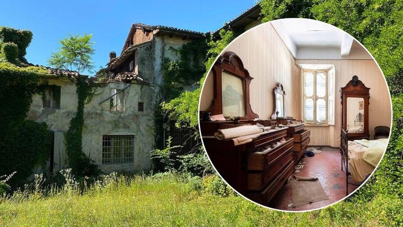Бүтэн зууны турш хаягдаж хоцорсон чинээлэг Итали айлын гэрт орж үзтэл...