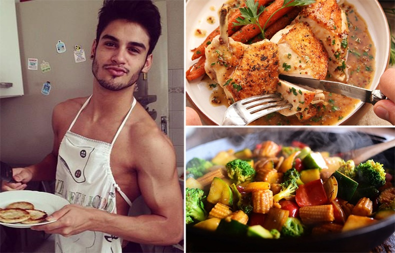 Эрэгтэй хүн бүрийн хийж сурах ёстой 15 хялбар хоол