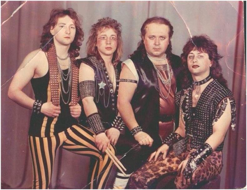 Беларусийн метал хөгжмийн хамтлаг Удар, 80-аад он