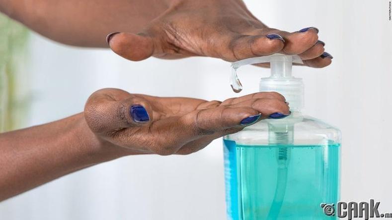 Триклозан агуулсан саван
